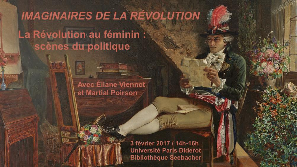 La Révolution au féminin: scènes du politique